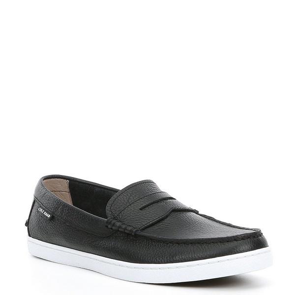 コールハーン メンズ スニーカー シューズ Men's Pinch Leather Weekender Loafer Black