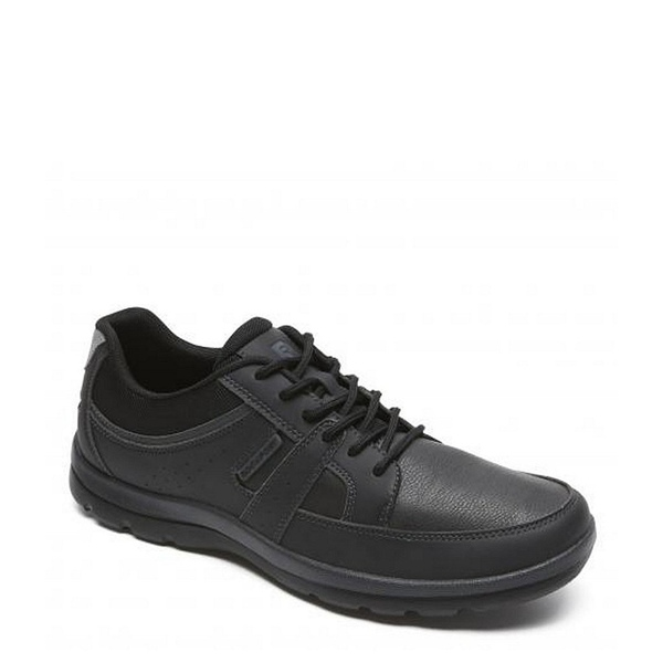 ロックポート メンズ スニーカー シューズ Men's Gyk Blucher Leather Sneakers Black