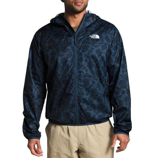 ノースフェイス メンズ ジャケット&ブルゾン アウター Wallflower Tonal Print Cyclone Packable Jacket Shady Blue Wallflower Tonal Print
