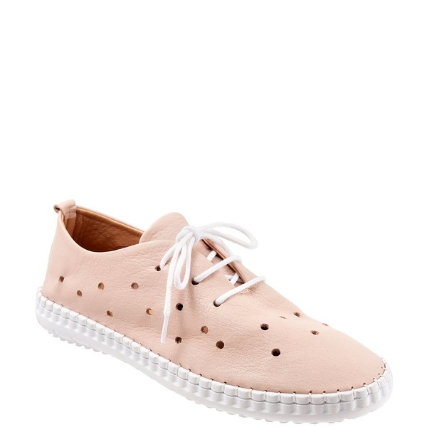 ブエノ レディース スニーカー シューズ Dallas Perforated Leather Sneakers Pale Pink