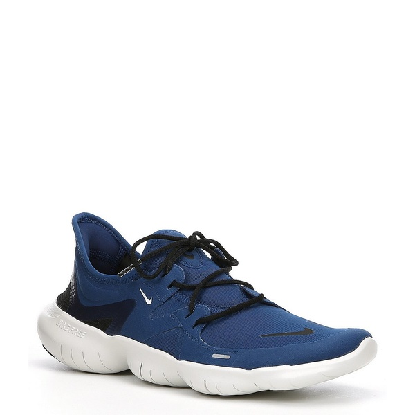 ナイキ メンズ スニーカー シューズ Men's Free RN 5.0 Running Shoe Coastal Blue/Platinum Tint/Black