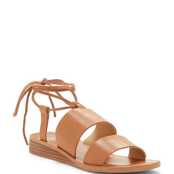 ラッキーブランド レディース サンダル シューズ Hadesha Banded Leather Ankle Wrap Sandals Latte