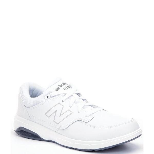 ニューバランス メンズ スニーカー シューズ Men's 813 Walking Shoes White