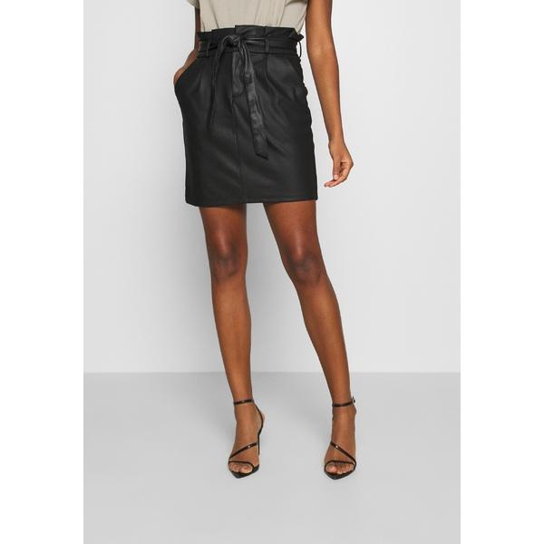 送料無料でお届けします ヴェロモーダ SEAL限定商品 レディース ボトムス スカート black 全商品無料サイズ交換 PAPERBAG - Pencil skirt ieke01d6 VMEVA