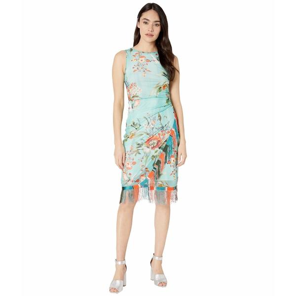 フィッジ レディース ワンピース トップス Bouquet Sleeveless Fringe Dress Pastello