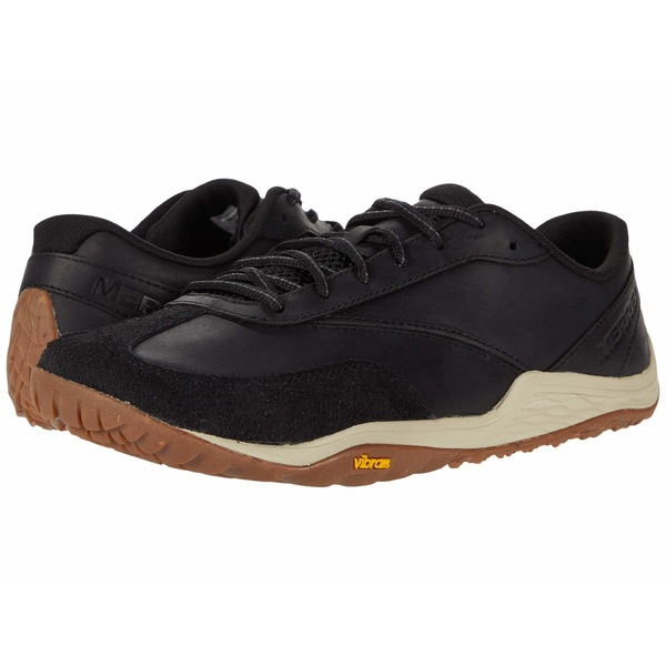メレル メンズ スニーカー シューズ Trail Glove 5 Leather Black