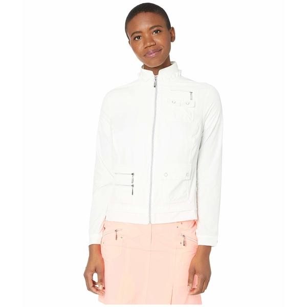 ジャイミーサドック レディース コート アウター Airwear Lightweight Jacket Sugar White