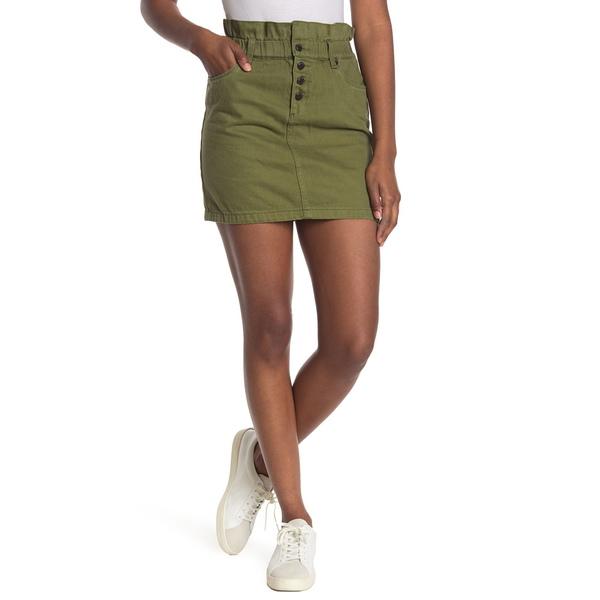 ブランクニューヨーク レディース ボトムス スカート LAWN 人気海外一番 ギフト プレゼント ご褒美 PARTY Olive Skirt Twill 全商品無料サイズ交換