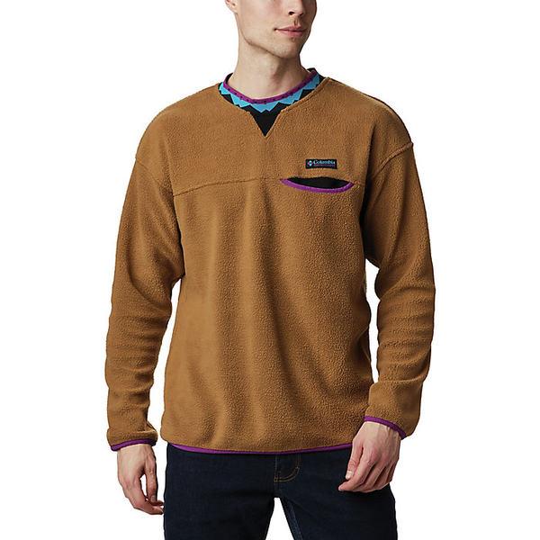 コロンビア メンズ シャツ トップス Columbia Men's Wapitoo Fleece Pullover Delta / Black / Plum