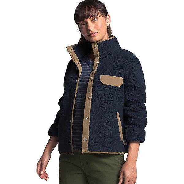 ノースフェイス レディース ジャケット&ブルゾン アウター The North Face Women's Cragmont Fleece Jacket Urban Navy / Kelp Tan