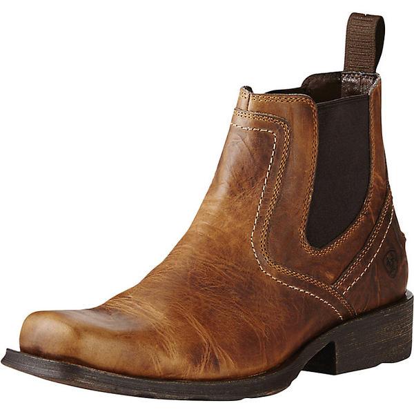 アリアト メンズ ブーツ&レインブーツ シューズ Ariat Men's Midtown Rambler Boot Barn Brown