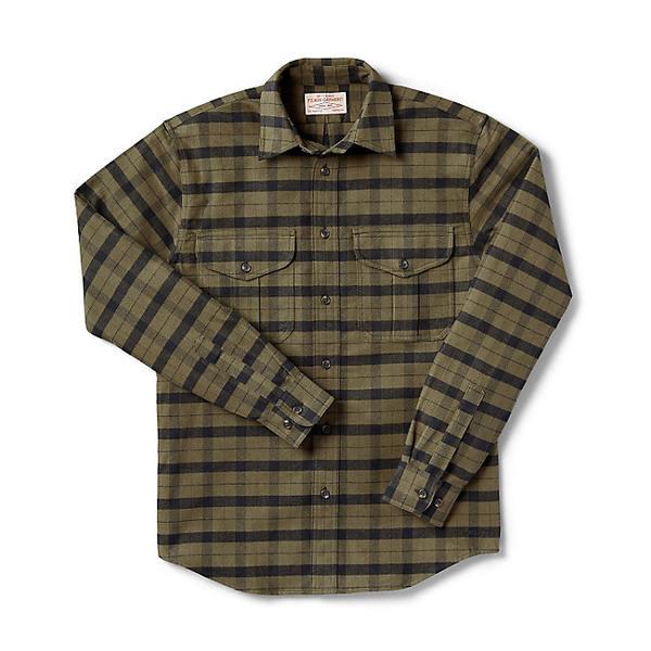 フィルソン メンズ シャツ トップス Filson Men's Alaskan Guide Shirt Otter Green / Black Plaid