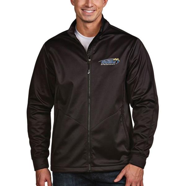 アンティグア メンズ ジャケット&ブルゾン アウター Kansas Speedway Antigua Golf Full Zip Jacket Royal