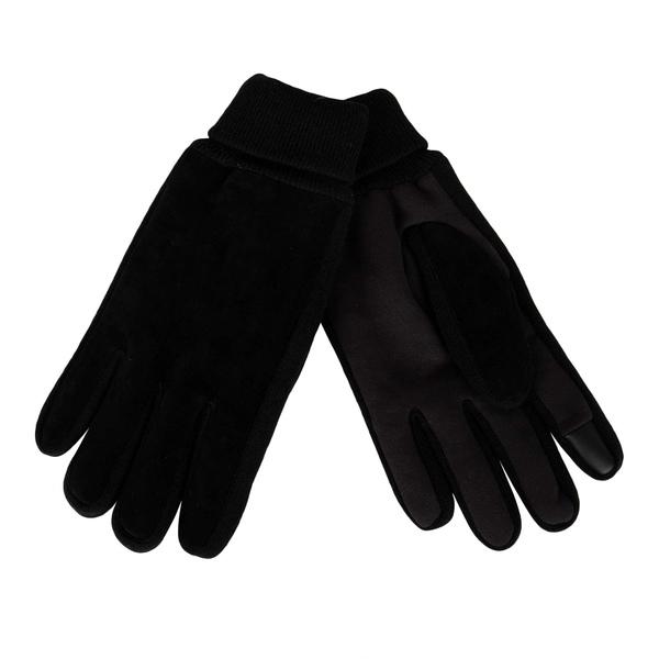 リーバイス メンズ アクセサリー 手袋 Black Fine Suede 安心と信頼 全商品無料サイズ交換 Knit and Touchscreen Gloves 新作からSALEアイテム等お得な商品満載 Capability Grip With