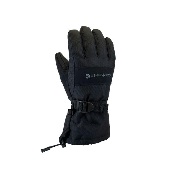 カーハート メンズ アクセサリー ご注文で当日配送 手袋 出色 Black Wp Junior 全商品無料サイズ交換