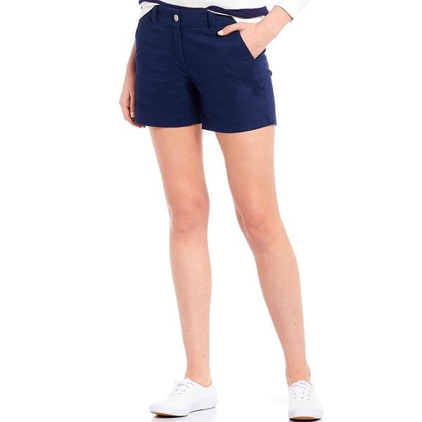 サウザーンタイド レディース カジュアルパンツ ボトムス Caroline Stretch Twill Shorts Nautical Navy