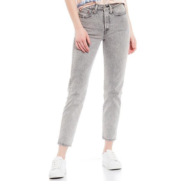リーバイス レディース デニムパンツ ボトムス Levi's Stone Broke Wedgie Icon Fit High Rise Tapered Leg Ankle Jeans Stone Broke