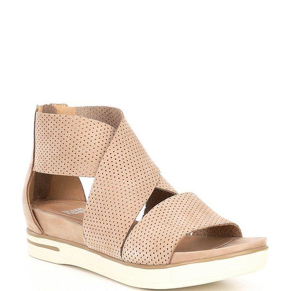 エイリーンフィッシャー レディース サンダル シューズ Sport3 Perforated Suede Leather Sandals Barley