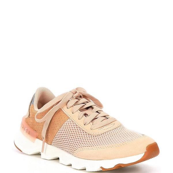 ソレル レディース スニーカー シューズ Kinetic Lite Lace Sneakers Natural Tan