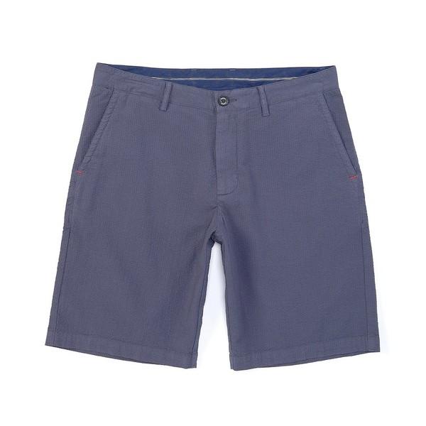 トッミーバハマ メンズ ハーフ&ショーツ ボトムス Hana Way Flat-Front 10#double; Inseam Shorts Coastline