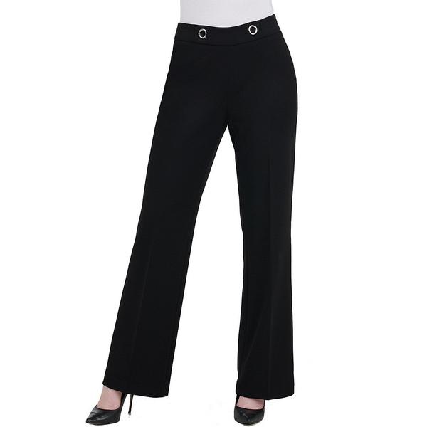 ピーターニガード レディース カジュアルパンツ ボトムス Soft Flare Crepe Knit Pant Black