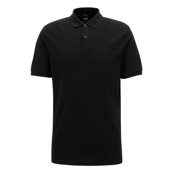 ヒューゴボス メンズ シャツ トップス BOSS Big & Tall B-Pallas Short-Sleeve Polo Shirt Black