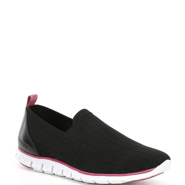 コールハーン レディース スニーカー シューズ Zerogrand Stitchlite Distance Knit Sneakers Black