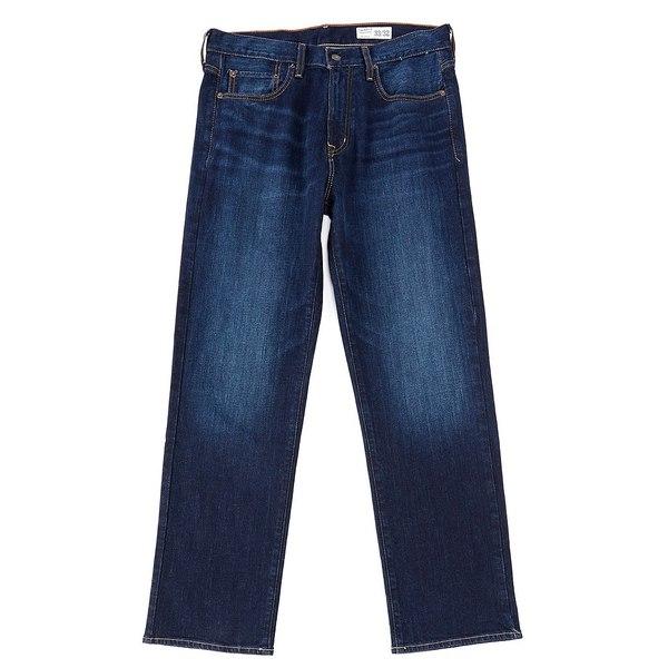 クレミュ メンズ デニムパンツ ボトムス Jeans Light Stone Relaxed Fit Stretch Denim Jeans Light Grey Stone