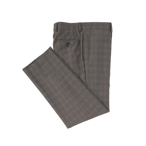 ラルフローレン メンズ カジュアルパンツ ボトムス Slim Fit Flat Front Two-Toned Plaid Pattern Dress Pants Charcoal