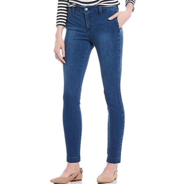 エヌワイディージェイ レディース デニムパンツ ボトムス Ami Skinny Ankle Jeans Clean Nevin