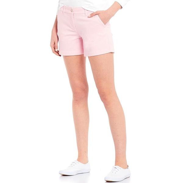 サウザーンタイド レディース カジュアルパンツ ボトムス Caroline Stretch Twill Shorts Misty Pink