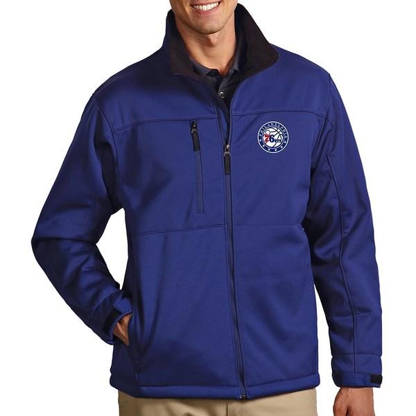 アンティグア メンズ ジャケット&ブルゾン アウター NBA Traverse Water-Resistant Full-Zip Jacket Philadelphia 76ers