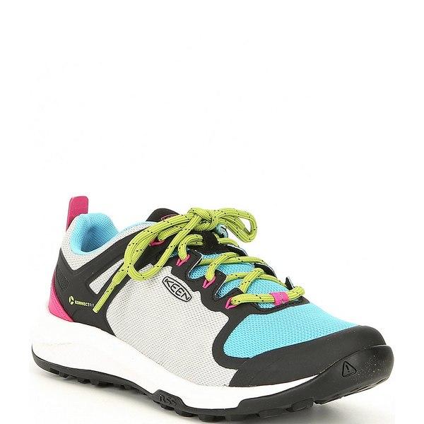 キーン レディース スニーカー シューズ Women's Explore Vent Colorblock Mesh Hiking Shoes Vapor/Blue Mist
