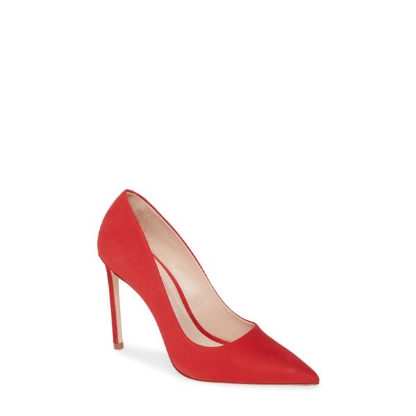 シュッツ レディース パンプス シューズ Lou Pointed Toe Pump Women) Club Red