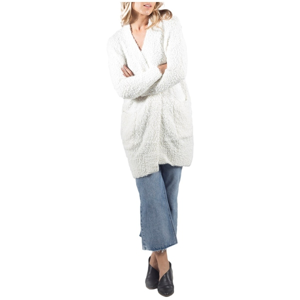 Miranda - Women's リラ ニット&セーター Lira Cardigan レディース Sweater Cream アウター