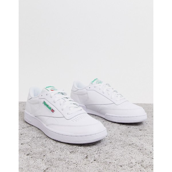 リーボック メンズ スニーカー シューズ Reebok Classics Club C 85 sneakers in white White
