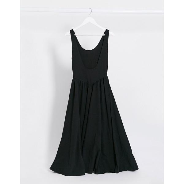 フリーピープル レディース ワンピース トップス Free People emilys midi dress in black Black