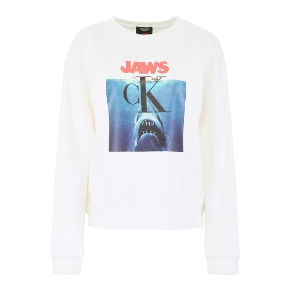 カルバンクライン レディース パーカー・スウェットシャツ アウター Calvin Klein Jaws Sweatshirt -