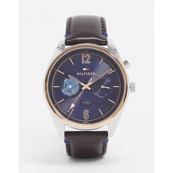 トミー ヒルフィガー レディース 腕時計 アクセサリー Tommy Hilfiger 1791549 chronograph watch Brown