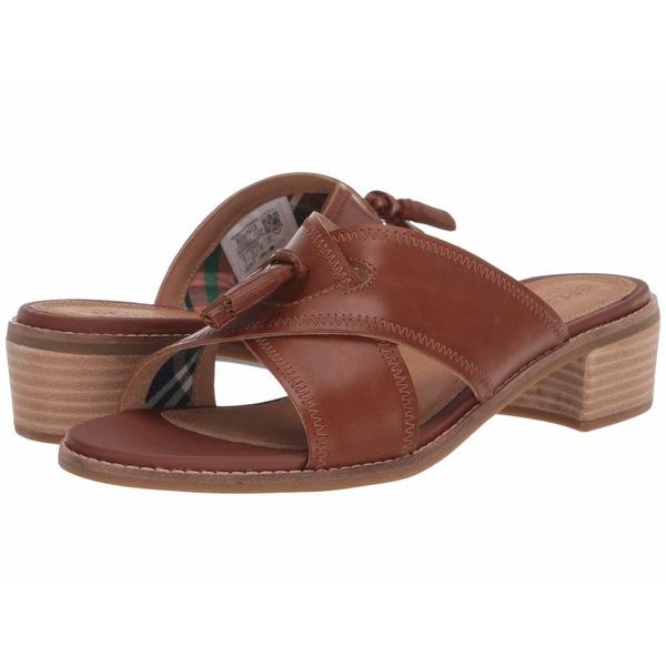 スペリー レディース サンダル シューズ Seaport City Sandal Tassel Slide Leather Cathay Spice