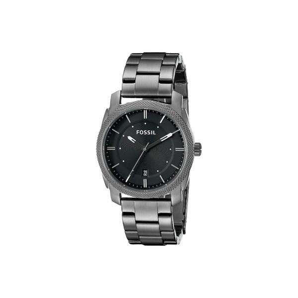 フォッシル メンズ 腕時計 アクセサリー Machine Three-Hand Watch FS4774 Smoke Stainless Steel