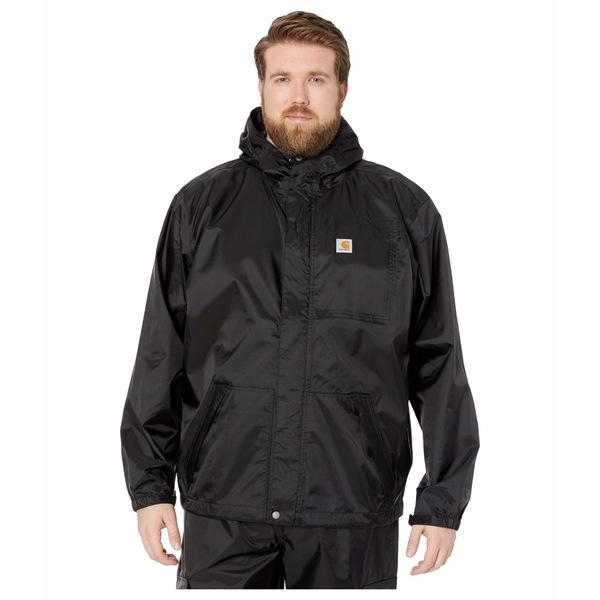 カーハート メンズ コート アウター Big & Tall Dry Harbor Jacket Black