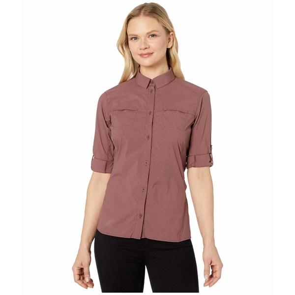 アークテリクス レディース シャツ トップス Fernie Long Sleeve Shirt Inertia