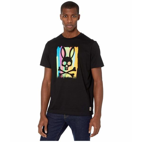 サイコバニー メンズ シャツ トップス Printed T-Shirt Black