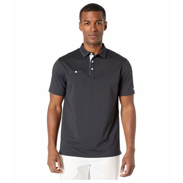 ナイキ メンズ シャツ トップス Dry Player Polo Solid Black/Gridiron/Brushed Silver