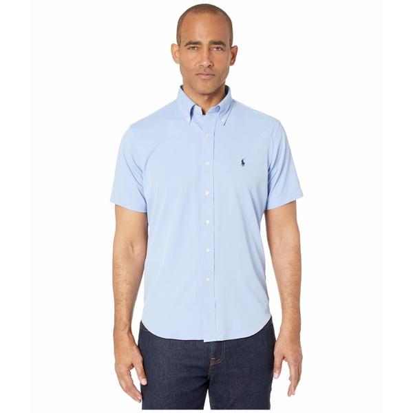 ラルフローレン メンズ シャツ トップス Classic Fit Performance Shirt Blue