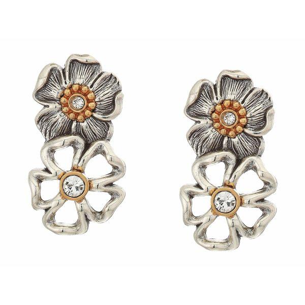 ブライトン レディース ピアス&イヤリング アクセサリー Lux Garden Post Drop Earrings Silver/Gold