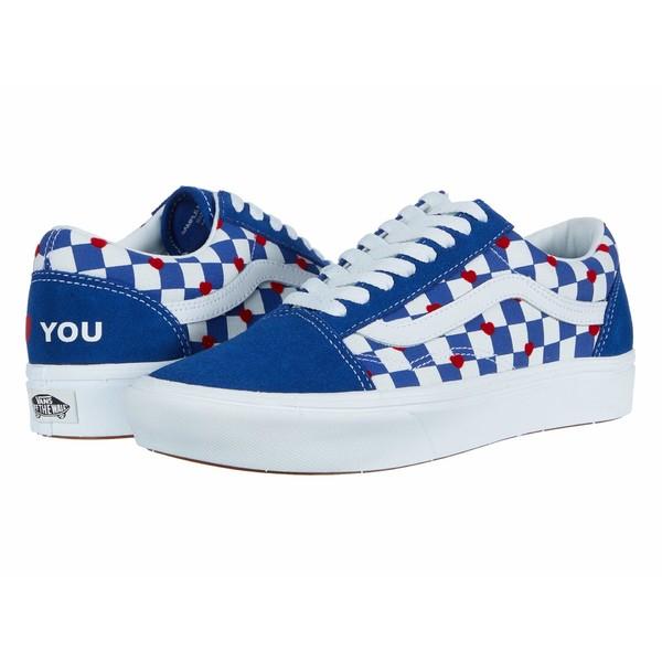 バンズ メンズ スニーカー シューズ Vans x Autism Awareness Sneaker Collection Vans Heart/True Blue (Comfycush Old Skool x Autism Awareness)