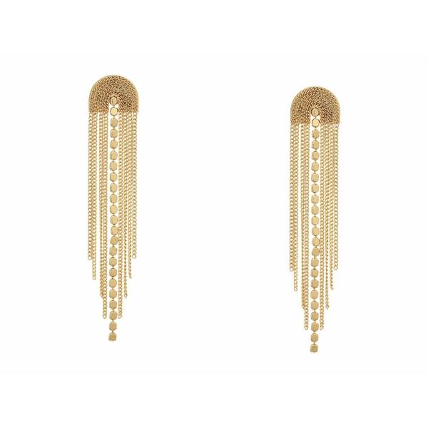 シャシ レディース ピアス&イヤリング アクセサリー Golden Waterfall Earrings Gold