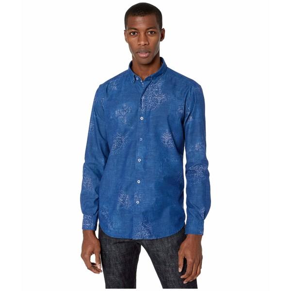 ロバートグラハム メンズ シャツ トップス Holmes Button-Up Shirt Blue